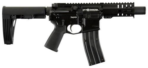 "CMMG MK4 Banshee, .22 LR, 4.5"" Barrel, 25rd, Magpul MOE Grips, Black"
