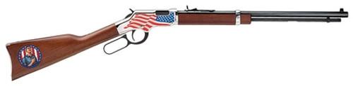 "Henry Golden Boy, .22 Short/Long/LR, 20"" Barrel, 16rd LR / 21rd Short, American Walnut, Stand For the Flag"