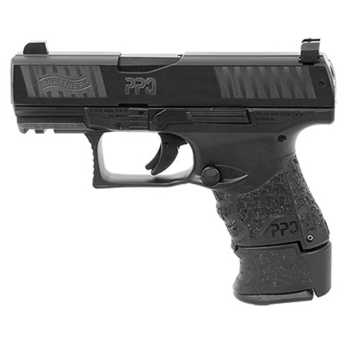 "Walther PPQ M2 Sub-Compact, 9mm, 3.5"" Barrel, 10rd/15rd, Night Sights, Black"