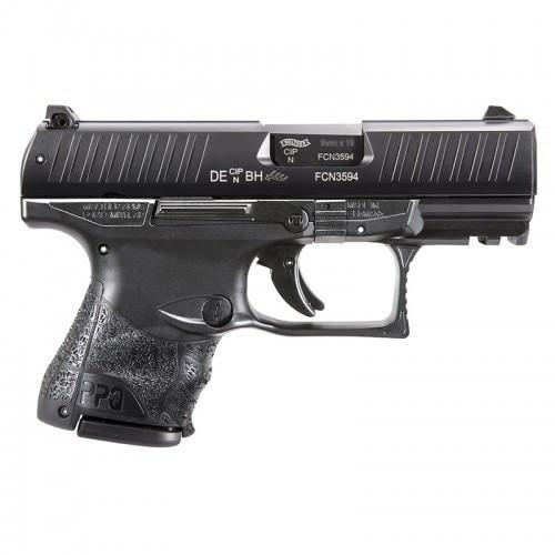 "Walther PPQ M2 Sub-Compact, 9mm, 3.5"" Barrel, 10rd, Night Sights, Black"