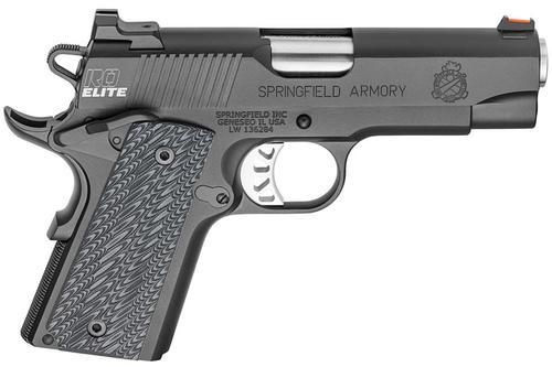 Springfield 1911 Range Officer Elite Compact 45 ACP, 4 Magazines & Range Bag