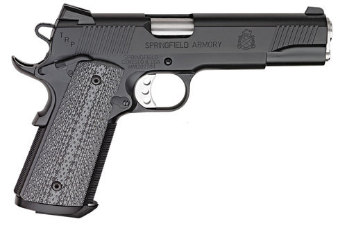"Springfield 1911 TRP, CA Compliant, 45 ACP, 5"" Barrel, 7rd, Black"