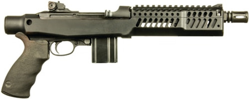 "Inland Mfg M30IMP, .30 Carbine, 7.5"" Barrel, 10rd, Sage EBR Aluminum, Matte Black"