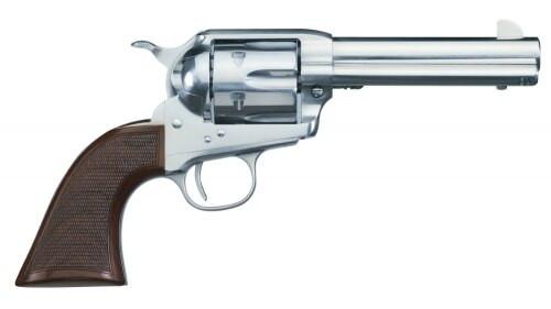 "Uberti 1873 El Patron, .45 Colt, 4.75"" Barrel,  6rd, Stainless"