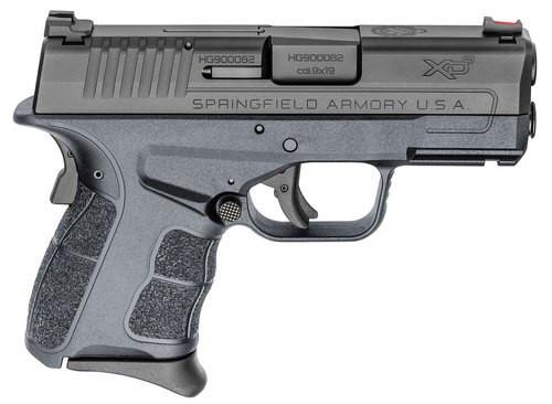 "Springfield XD-S Mod.2, 9mm, 3.3"", 7rd, Fiber Optic Sights, Black"