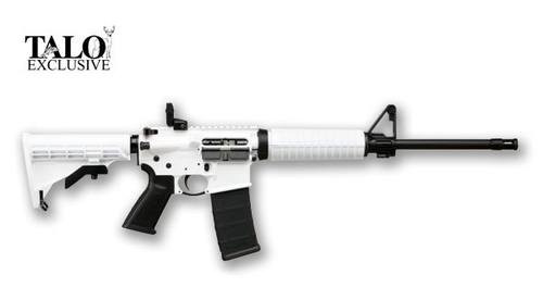 "Ruger AR-556 Whiteout AR-15 5.56/223 16"" Barrel, Flip Rear Sight, 30rd MagPul Mag, TALO Edition"