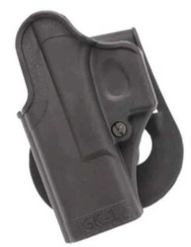 Sig Standard Paddle Holster Glock 9/40/357 Black, Left Hand