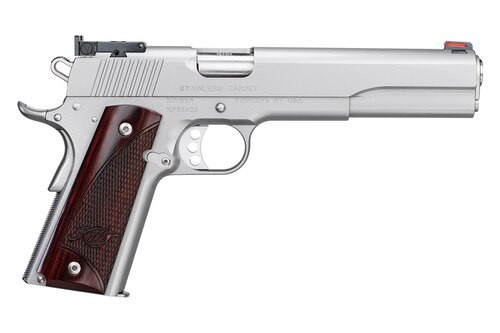 """Kimber Stainless Target, 10mm, 6"""" Barrel, 8rd, Stainless Steel"""