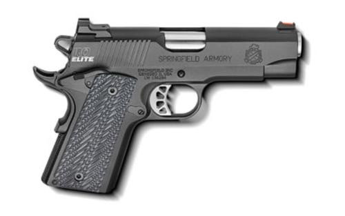 """Springfield 1911 Range Officer Elite Compact 9mm 4"""" Bull Barre G-10 Grips 9rd Mags"""