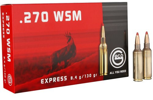 Geco 270 WSM Exp 130gr, 20rd Box