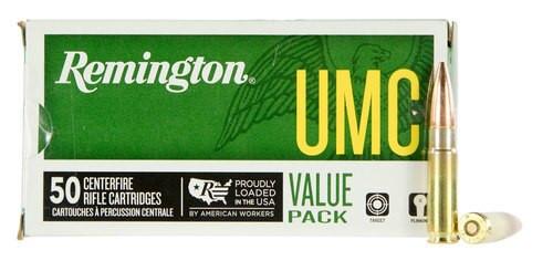 Remington Ammo UMC 300 Blackout 120gr, OTFB, 50rd/Box