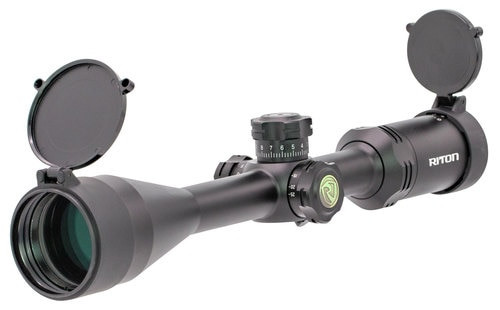 RITON OPTICS RT-S Mod 3 Gen 2, 6-24x50mm, 16.8-4.4 ft @ 100 yds, BDC, Matte Black