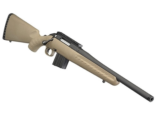 """Ruger American Ranch Rifle, .350 Legend, 16.38"""", 5rd, Flat Dark Earth Synthetic Stock"""