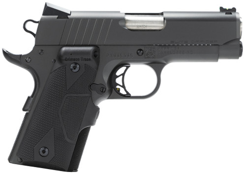 """Para Elite Officer 45ACP CT Laser Grips 7+1 SS/Ion Finish 3.5"""" FO Sights"""