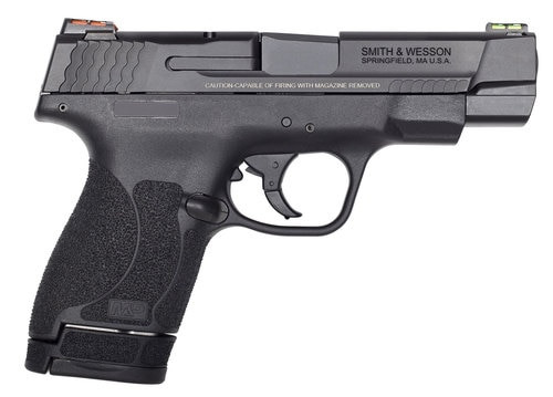 """Smith & Wesson Performance Center Shield M2.0, 9mm, 4"""", 7rd/8rd, Black"""