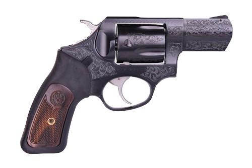 "Ruger SP101 TALO Engraved 357 Mag/38 Special, 2.25"" Barrel, Deep Blue Finish, 5rd"