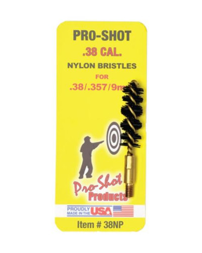 Pro-Shot .38/357 Cal.-.9mm Nylon Pistol Brush
