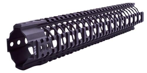 "Spikes SAR3 Quad Rail AR-15 13.2"" Black"