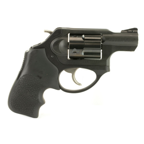 """Ruger LCRx Single/Double 357 Mag, 1.87"""" 5 rd Black Hogue Tamer Monogrip Grip Black"""