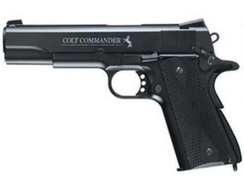 "Umarex Colt Commander, .177 BB, 4.5"" Barrel, 18rd, Black"