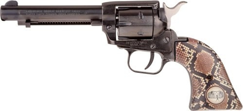 """Heritage Rough Rider Revolver SAA 22  LR 4.7.5"""" Barrel, Snake Style Grips- TALO Exclusive"""