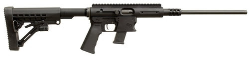 "TNW Aero Survival 10mm, 16.25"" Collapsible Black Stock, Black Hardcoat Anodized"
