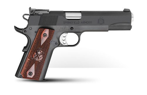 """Springfield 1911 Range Officer, Instant Gear Up Package, 45 ACP, 5"""" Barrel, 7rd, Cocobolo Grips"""