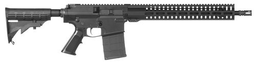 "CMMG Resolute 100 MK3 308 Win 16.1"" Barrel, 6-Position Black Stock Black Hardcoat Anodized, 20rd"