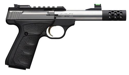 "Browning Buck Mark+ Micro Bull UFX 22 LR, 4.4"" Bull Barrel, Suppressor Ready"