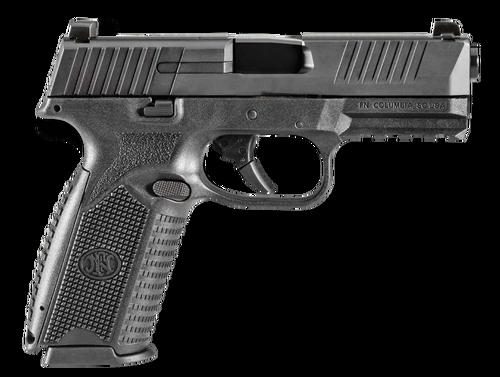 """FN 509 NMS NS 4"""" Barrel, Black Interchangeable Backstrap Grip Black Steel Slide, 17rd"""