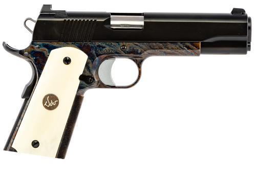 Dan Wesson Valor 9mm, Case Color Frame, Bone Grips, 9rd