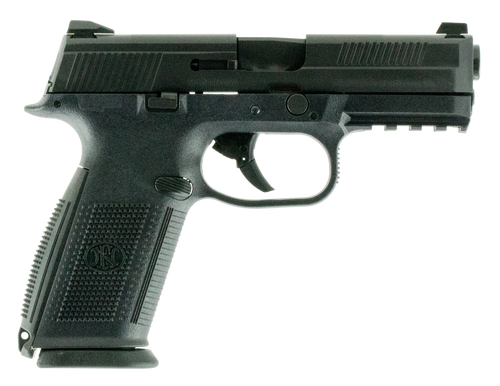 "FN FNS-40 40 S&W, 4"" Barrel, Black, No Manual Safety, 14rd"