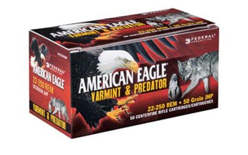 Federal American Eagle 223 Rem 50gr JHP, 50rd/Box