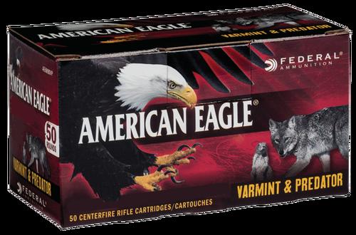 Federal American Eagle 6.8mm Rem SPC 90gr, JHP, 50rd/Box