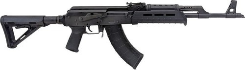 "Century VSKA M4 AK-47 7.62X39, 16.25"" Barrel, M4 Buffer Tube Adapter, Magpul Furniture, 30Rd Mag"