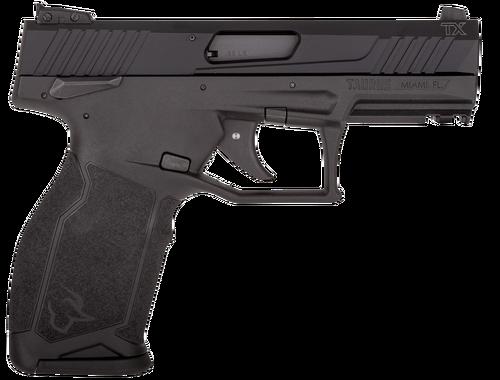 "Taurus TX22, .22 LR, 4.1"" Barrel, 10rd, SAO, Ambi-Safety, Black"