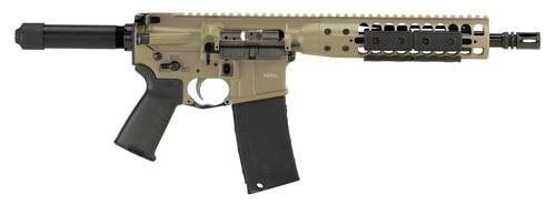 "LWRC Individual Carbine Direct Impingement AR=15 Pistol, 5.56/..223, 10.5"" Barrel 30rd Mag, Flat Dark Earth"