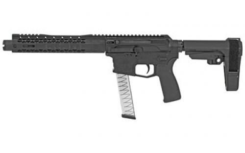 "Black Rain Ordnance ION9, 9mm, 8.75"", 30rd, M-Lok, PDW Brace, Black"