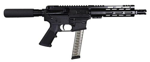 "I.O. M215 ML-7, 9mm, 8.5"" Barrel, 30rd, Buffer Tube, Black"
