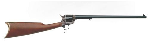 "Uberti 1873 Cattleman Carbine, .45 Colt, 18"", 6rd, A-Grade Walnut Stock, Blued"