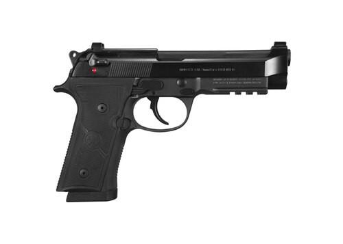 "Beretta 92X Full-Size 9mm, 4.7"" Barrel, DA/SA, Decock-Only, Black, 17rd"