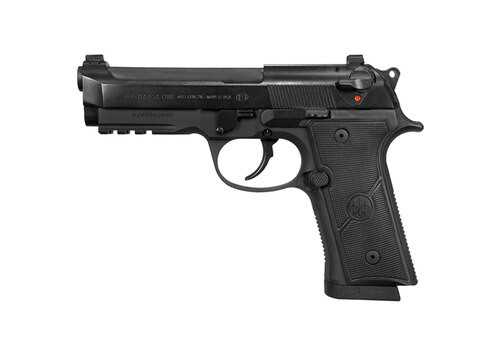 "Beretta 92X Centurion 9mm, 4.3"" Barrel, DA/SA, Black, 17rd"