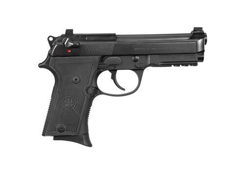"Beretta 92X Compact 9mm, 4.3"" Barrel, SA/DA, Decock-Only, Black, 13rd"