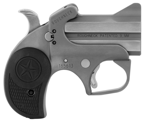 """Bond Arms Roughneck 9mm, 2.5"""" Barrel, Bead Blasted Stainless Steel, 2rd"""