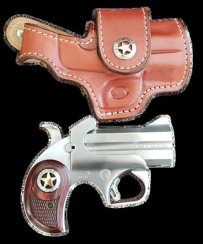 "Bond Rustic Defender 45 Colt/410 Ga, 3"", Two Tone, Holster Included"