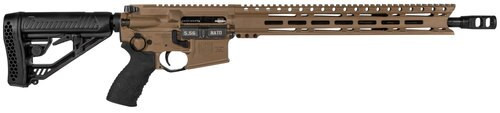"Diamondback DB15 Elite, CA Legal, .223 Rem, 16"" Barrel, Tactical EX Stock, Flat Dark Earth, 10rd"