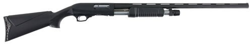 "Hatfield PAS Pump-Action 12 Ga, 28"" Barrel, 3"", Black, 4rd"