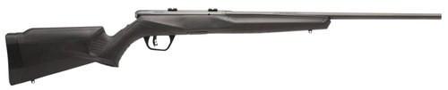 "Savage B22 F .22 LR, 21"" Barrel, Synthetic Black Stock, Carbon Steel, Blued, Left-Handed, 10rd"