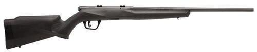 "Savage B22 Magnum F .22 WMR, 21"" Barrel, Synthetic Black Stock, Blued, Left-Handed, 10rd"