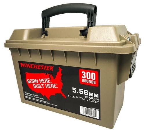 Winchester 5.56mm 55gr, FMJ, 300rd